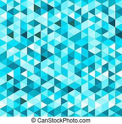bleu, géométrique, fond