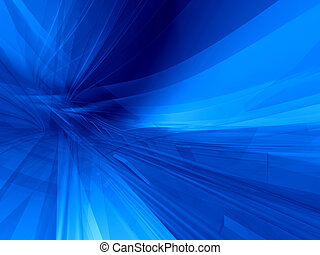 bleu, global, fond
