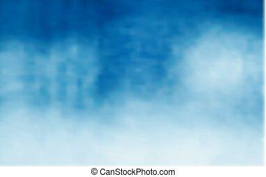 bleu, gradient., illustration, vecteur, fond, blanc