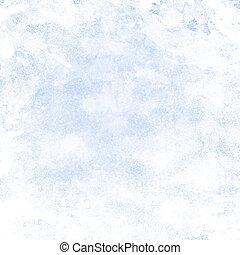 bleu, grunge, couleur, lumière, résumé, texture, conception, fond, vendange