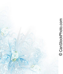 bleu, jarretière, nuptial, fond, mariage