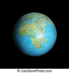 bleu, la terre