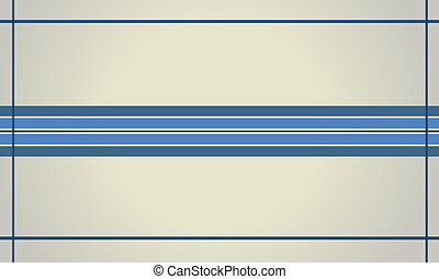 bleu, ligne