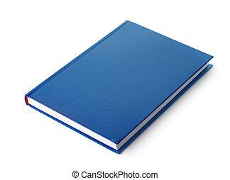 bleu, livre cartonné