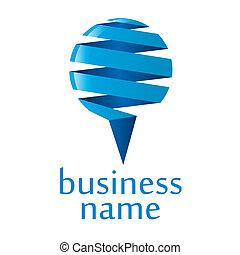 bleu, logo