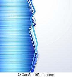 bleu, métal, texture, fond