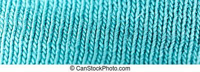 bleu, macro, résumé, tissu, arrière-plan.