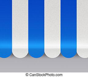 bleu, marquises, fond