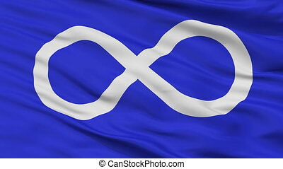 bleu, metis, seamless, drapeau, indien, closeup, boucle