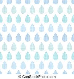 bleu, modèle, résumé, raies, pluie, seamless, textile, fond, gouttes