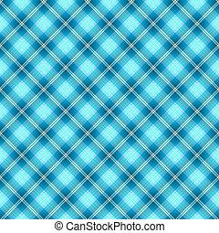 bleu, modèle, résumé, seamless, diagonal, tartan