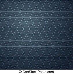 bleu, modèle, résumé, seamless, sombre, géométrique