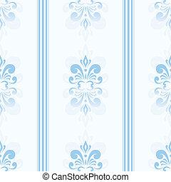 bleu, modèle, seamless