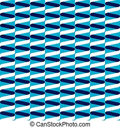 bleu, modèle, spirale, vague, seamless, ruban
