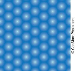 bleu, modèle, vecteur, seamless