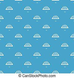 bleu, modèle, vecteur, seamless, piscine