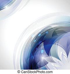 bleu, mouvement