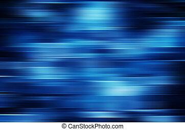 bleu, mouvement, résumé, fond, barbouillage