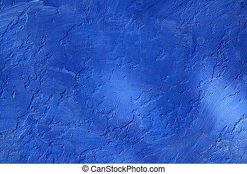 bleu, mur,  grunge,  texture, fond