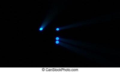 bleu, nouveau, salutations, 2013, année