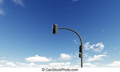bleu, nuages, lumière, ciel, courant, trafic, fond