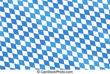 bleu, oktoberfest, bavière, couleur, festival, conception, frais