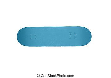 bleu, panneau patin