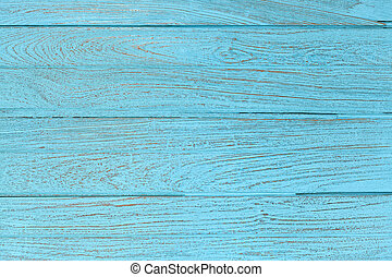 bleu, papier peint, texture, teak, bois, fond