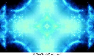bleu, particule, vj, xr7, résumé, boucle