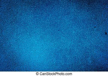 bleu, peint,  grunge, mur