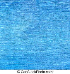 bleu, peint, toile, texture