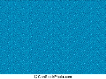 bleu, pixel, fond