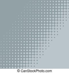 bleu, plat, résumé, diagonal, gris, arrière-plan., halftone