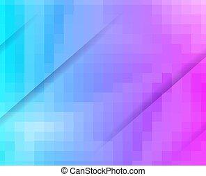 bleu, pourpre, créatif, fond, conception, grille, mosaïque, templates.