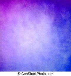 bleu, pourpre, résumé, grunge, fond