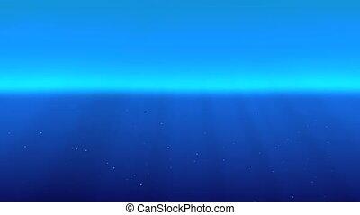 bleu, profond