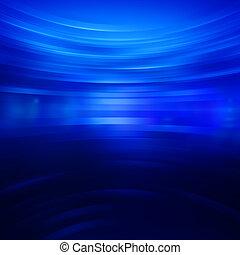 bleu, résumé, bandes, papier peint, briller