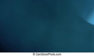 bleu, résumé, bokeh, fond