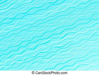 bleu, résumé, créativité, vecteur, conception, fond, vagues