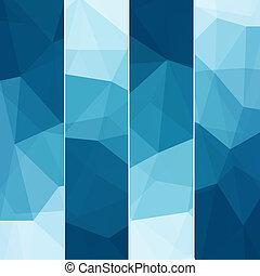 bleu, résumé, ensemble, fond