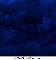 bleu, résumé, fond foncé, ton, design.