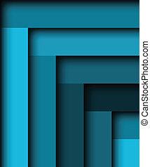 bleu, résumé, fond, vecteur, illustration
