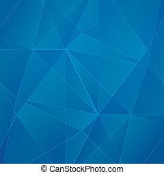 bleu, résumé, géométrique, business, ve