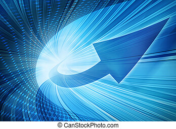 bleu, résumé, illustration