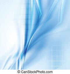 bleu, résumé, moderne, vecteur, fond