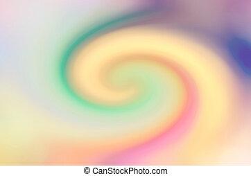 bleu, &, résumé, motion., vague, barbouillage, ripple., typon, fond
