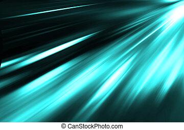 bleu, résumé, néon, bacground, nuit