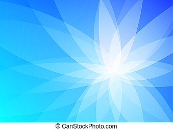 bleu, résumé, papier peint, fond
