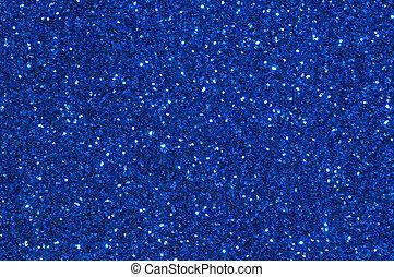 bleu, résumé, scintillement, texture, fond