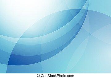 bleu, résumé, vecteur, fond